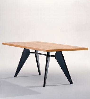Vitra em table - Table demi lune avec rallonge ...